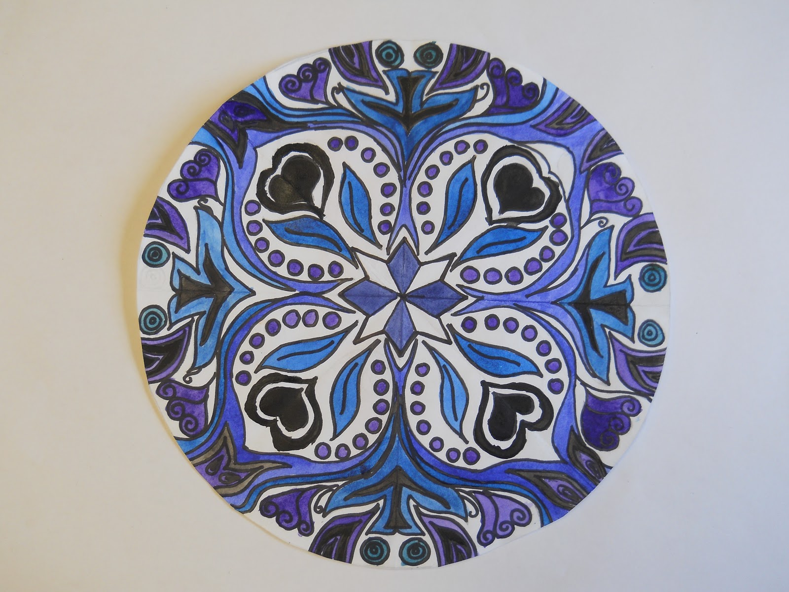 Art Designs: Art With Mrs. Lane: Mandala Radial Designs