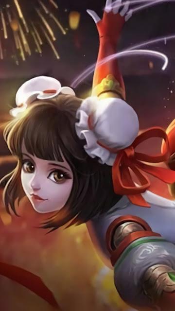 Angela Shanghai Maiden Heroes Support of Skins Starlight