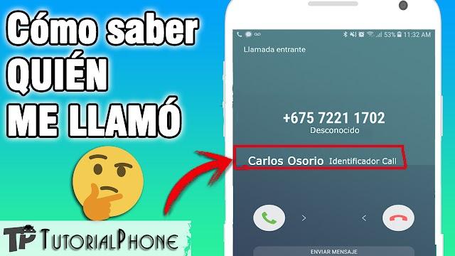 Cómo saber quién me llamó o escribió en WhatsApp