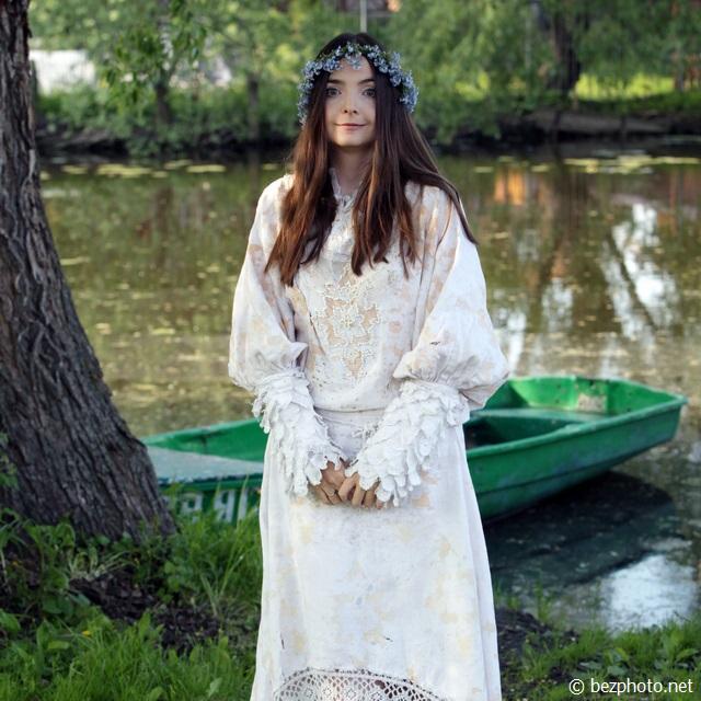 русский стиль одежды фото