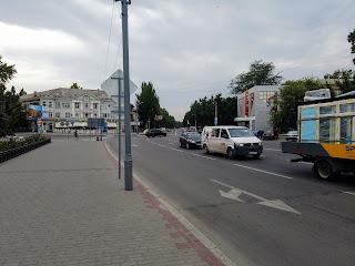 Мелитополь. Проспект Богдана Хмельницкого