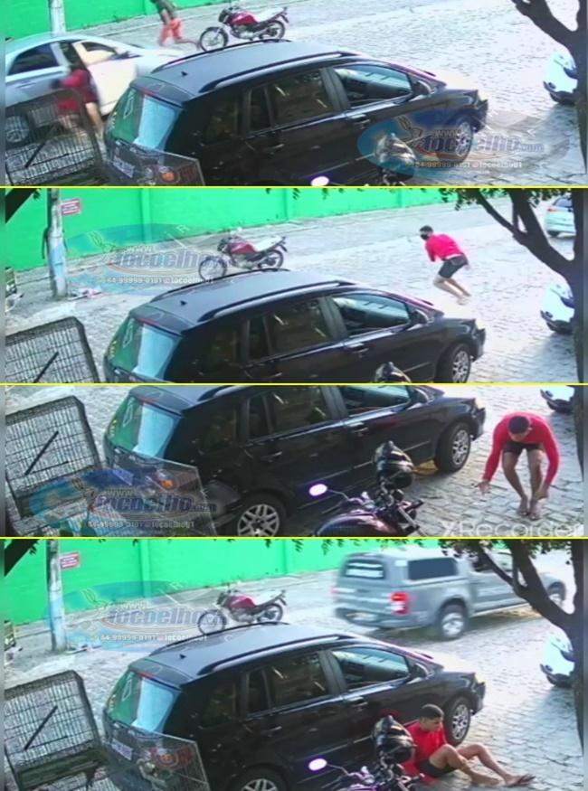 INCRÍVEL: Perseguição policial e fuga de cenas de filmes pelas ruas de Parnamirim (VEJA VÍDEO)