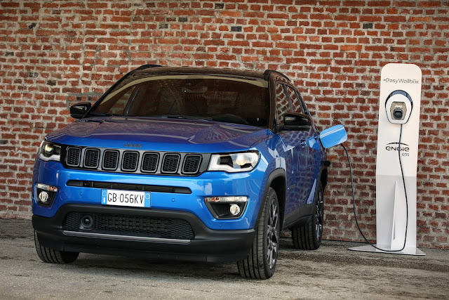 Novo Jeep Compass 4xe Híbrido Plug-in 2021