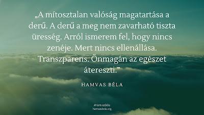 Hamvas Béla idézet