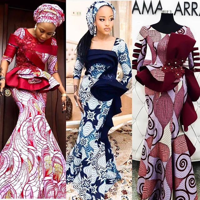 Latest Ankara Skirt and Blouse Styles for this Month in 2020