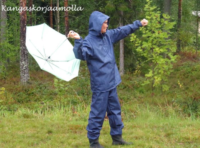 sadevaatteiden ompelu