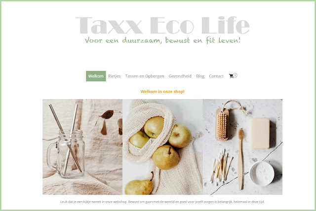 Sustainable Duurzame Webshop Taxx Eco Life