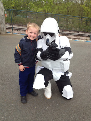 storm trooper, legoland Windsor