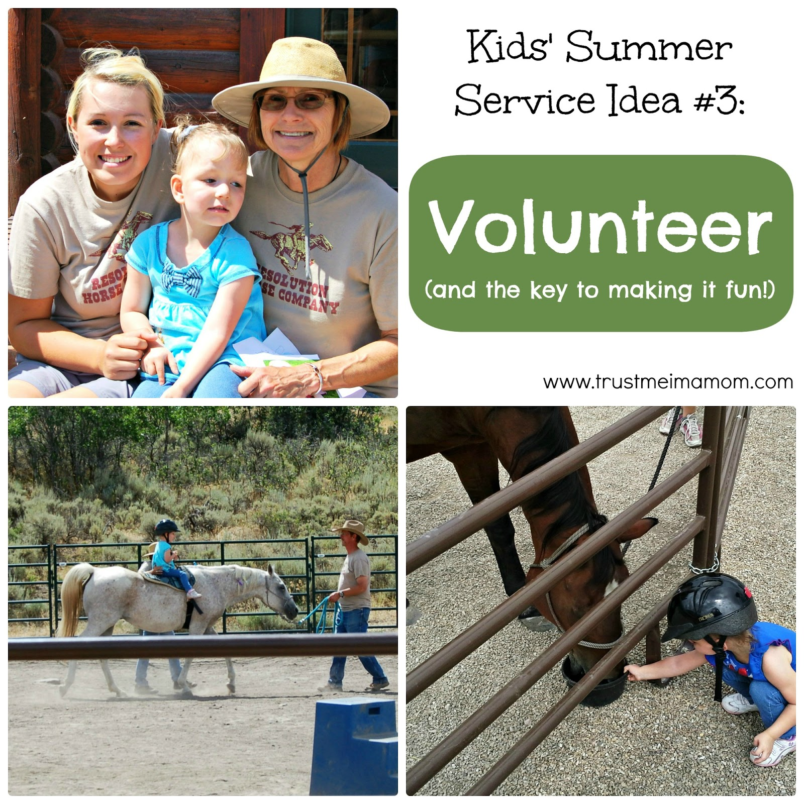 Fun Ways to Serve with Your Kids This Summer: Idea #3 Volunteer (and how to make it more fun!)