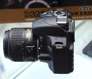Jual Kamera Nikon D3200 Lensa Kit VR2 Fullset Malang