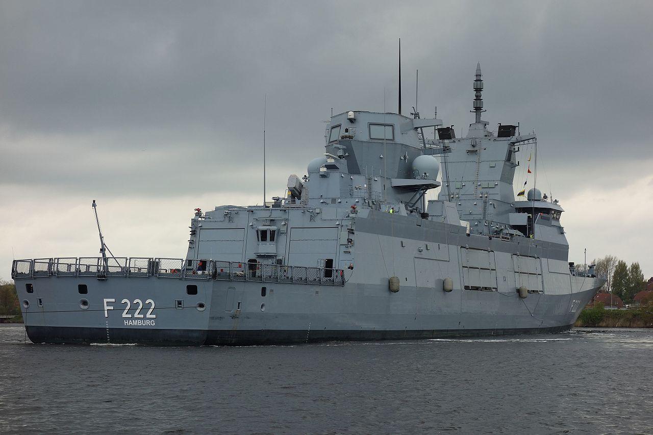 Головний корабель у серії Baden-Württembergстав (F222)