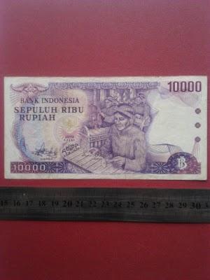 10000 rupiah 1979