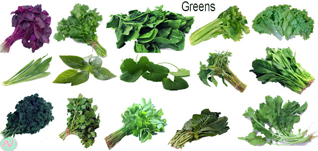 greens, leaf vegetables, leafy greens, vegetable greens