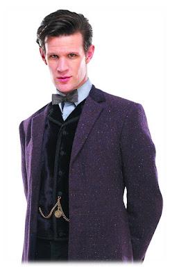 11th Doctor velvet waistcoat