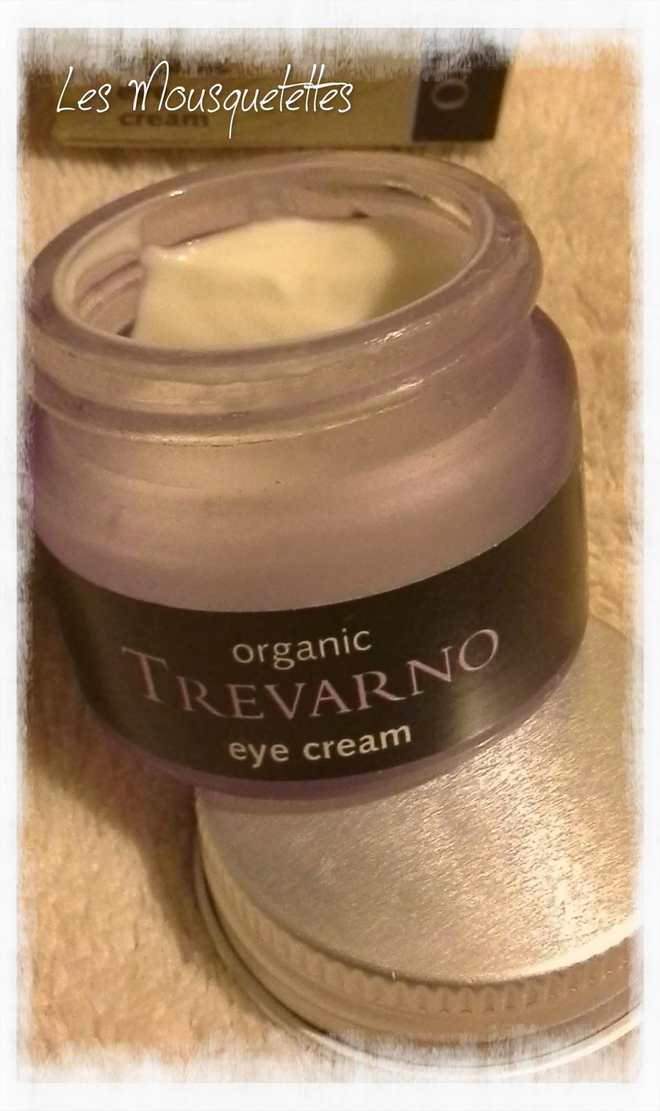 Eye cream Organic Trevarno - Les Mousquetettes©