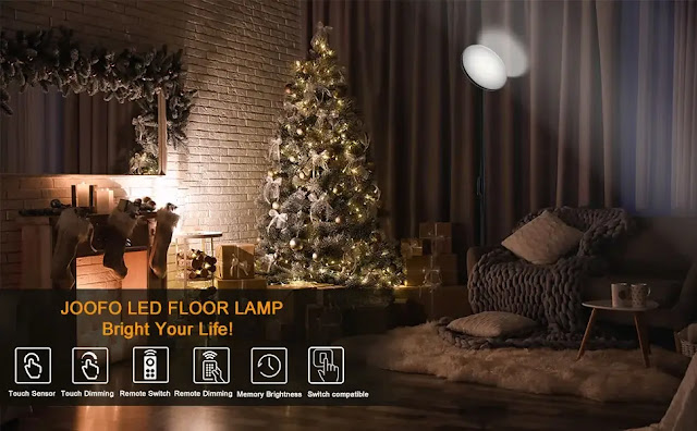 living room with lighting and plants
