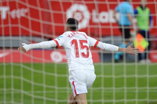 Crónica Sevilla FC 3 - Cádiz CF 0