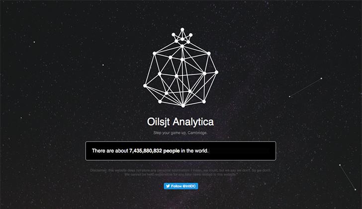 Sadece 15 Soru Sorarak Adınızı Soyadınızı Tahmin Edebilen Web Sitesi : Oilsjt Analytica