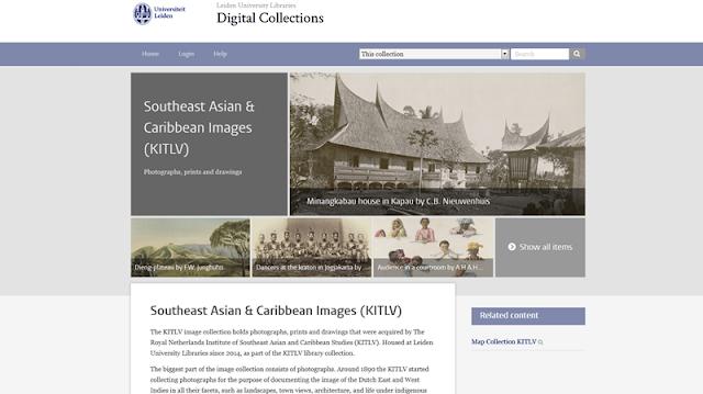 Situs Belanda Penyedia Foto Lawas Indonesia Era Kolonial