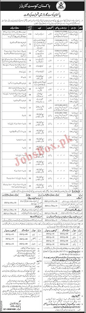 pakistan-coast-guard-jobs-2021-advertisement-application-form