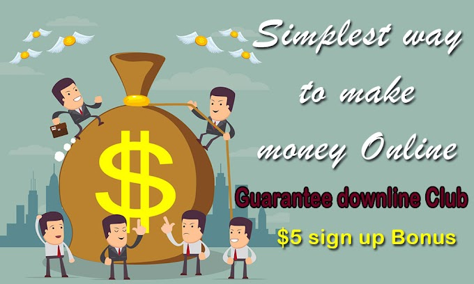 Guarantee Downline Club: Easy method to make money online for free in 2021