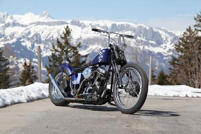 Harley Davidson Panhead 1949 By Bobber FL Motorcycles Hell Kustom