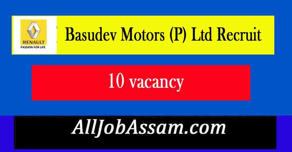 Basudev Motors (P) Ltd Recruit