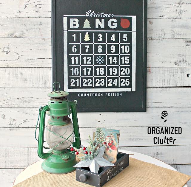 A 2019 Christmas Decor Recap #DIYChristmas #oldsignstencils #upcycle #repurpose #holidaydecor #rusticChristmas