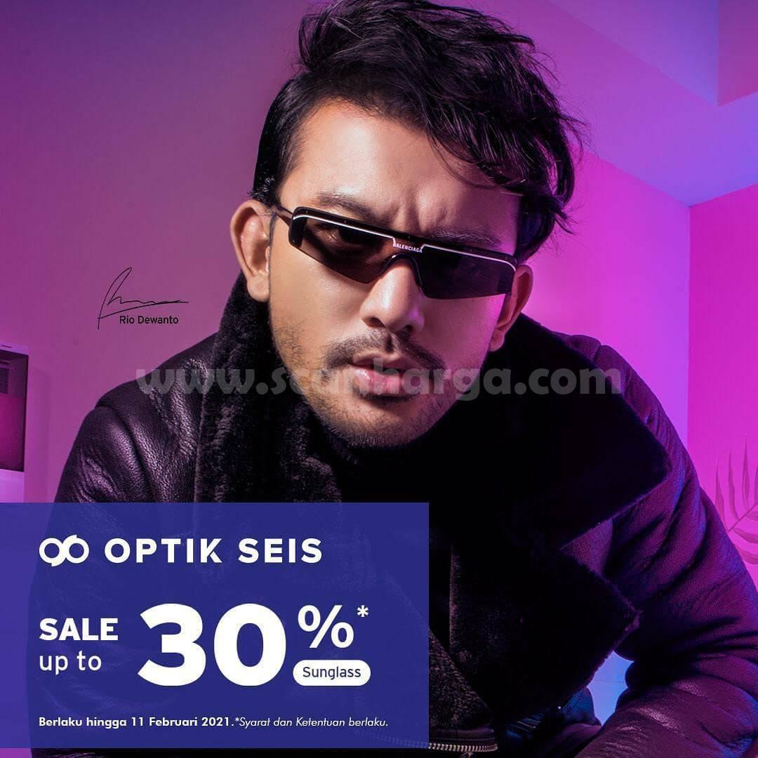 Promo OPTIK SEIS Diskon 30% + 5% dengan Kartu Kredit Debit BNI