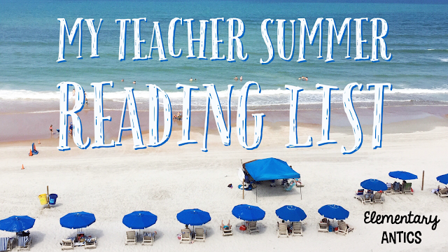 Check out my summer reading recommendations and what I want to be reading this summer!