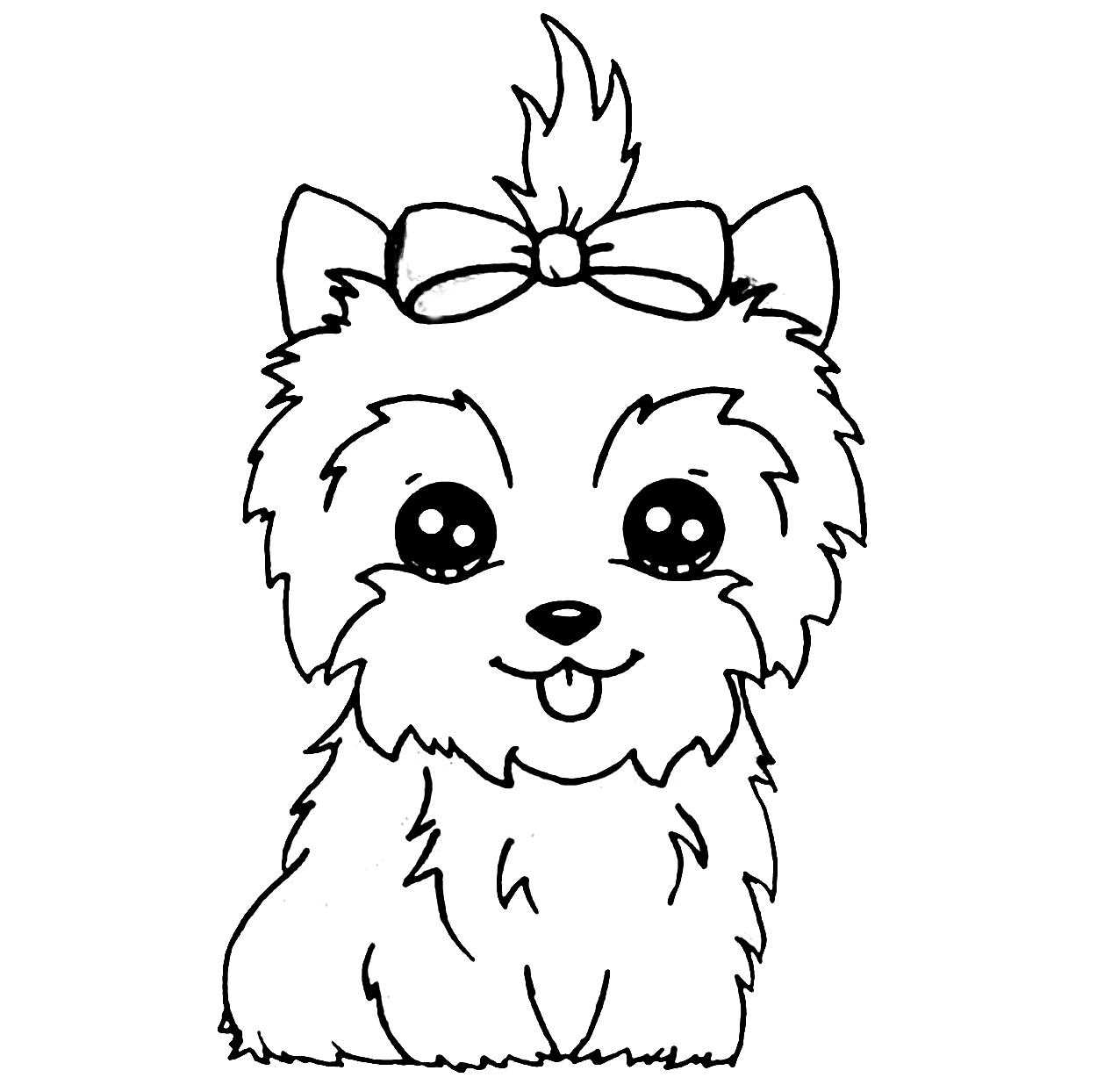 Riscos graciosos (Cute Drawings): Riscos de cães