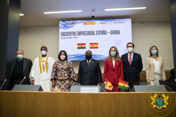 """""""Ghana Is A Haven Of Peace, Investments Are Protected"""" – President Akufo-Addo To Spanish Investors"""