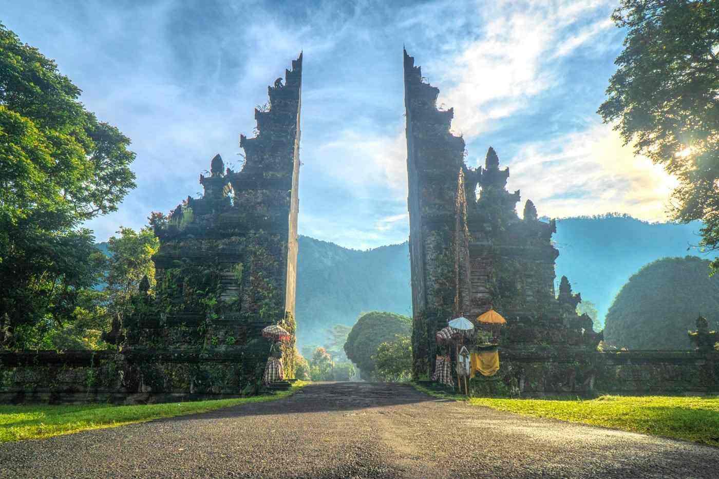 handara gate, bali - 7 best tropical islands to visit