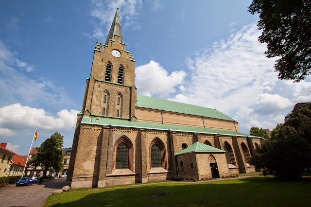 Halmstad-Chiesa