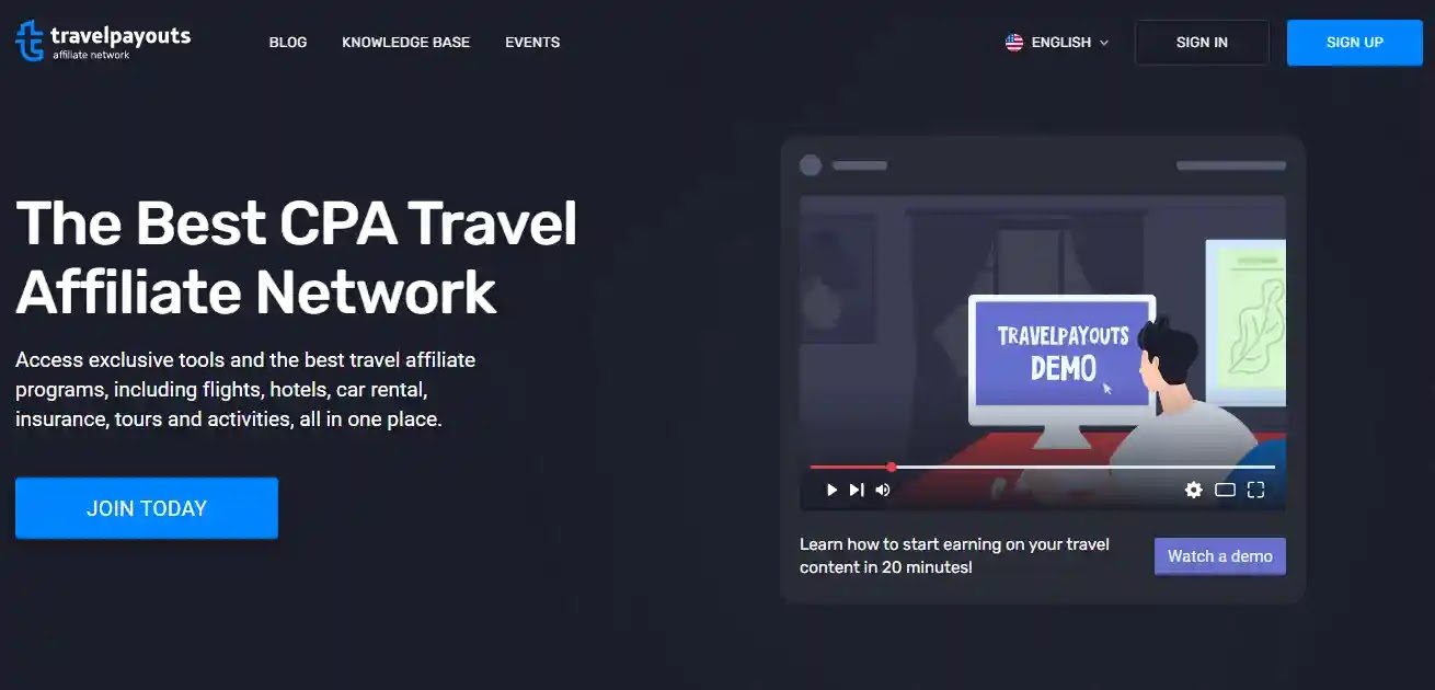 Travelpayouts Affiliate Network