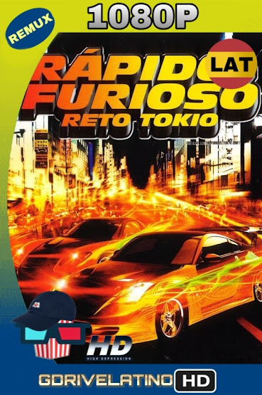 Rápido y Furioso: Reto Tokio (2006) BDRemux 1080p Latino-Ingles MKV