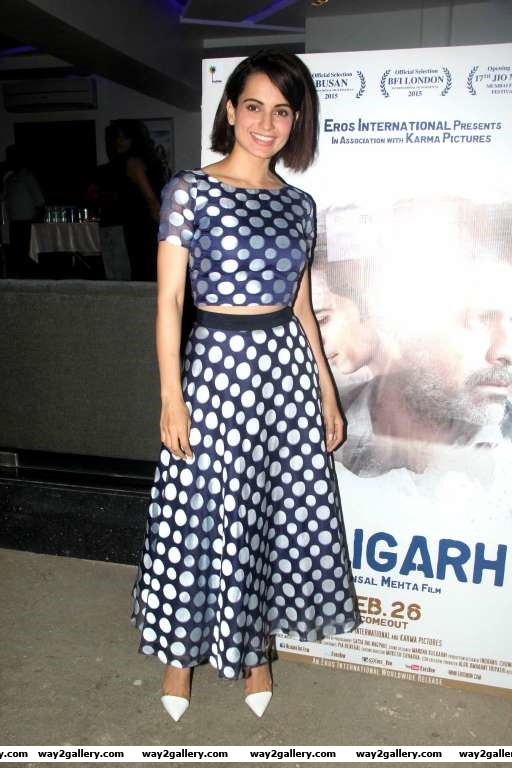 This is the best film I have seen in the past  years And its very good for our society Just like medicine which may be difficult to take but should be taken for the betterment said Kangana Ranaut at a screening of Aligarh