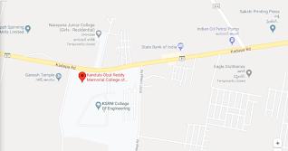 KORMCE- Pulivendula Kadapa District Fees Format
