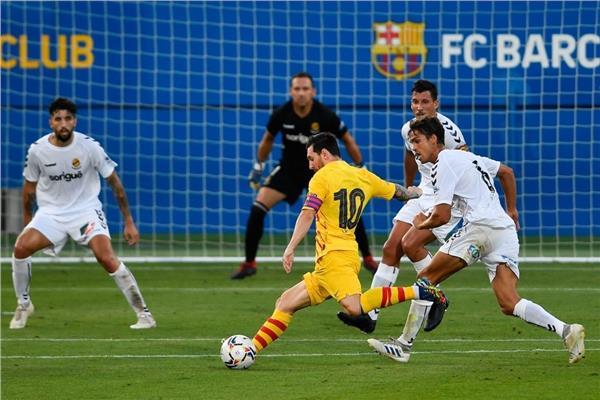 تقرير مباراة برشلونة وخيمناستيكا في مباراة ودية