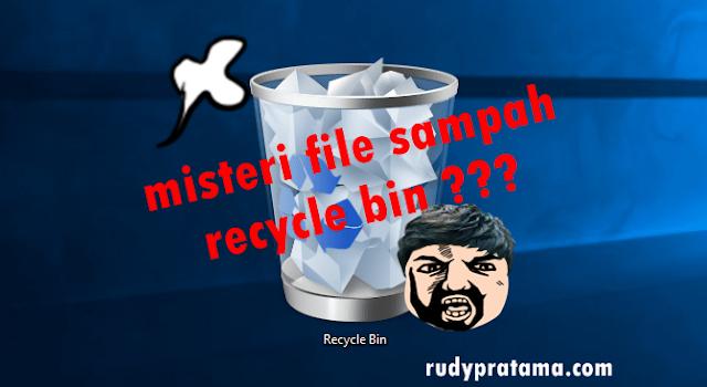 misteri file sampah recycle bin