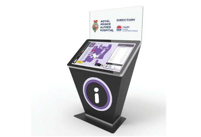 how self-service kiosks helps patients hospitals