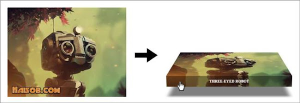 Membuat Efek Hover 3D pada Gambar Blog