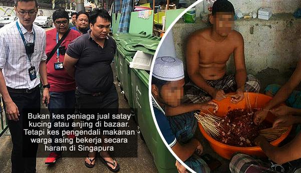 Tiada kes jual satay kucing dan anjing di bazaar ramadhan Singapura