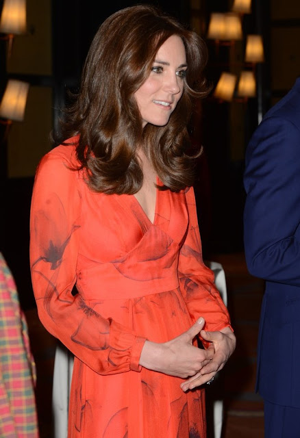 Prince William and Kate Middleton attend a reception at the Taj Hotel in Bhutan