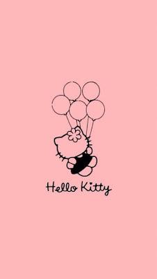 wallpaper hello kitty lucu