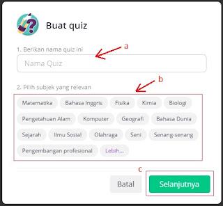 Cara Membuat Kuis Online Menggunakan Quizizz