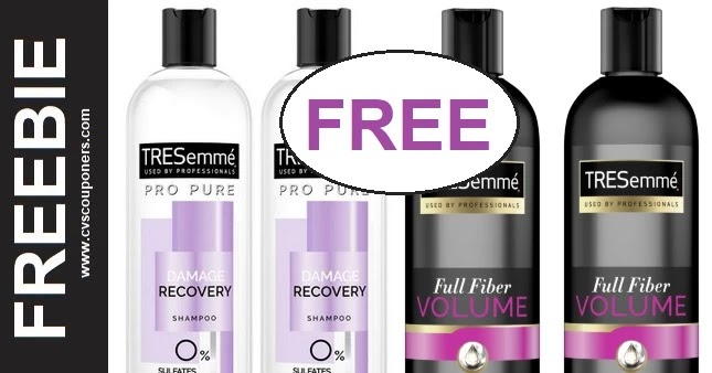FREE Tresemme Pro Collection CVS Deal 7/11-7/17