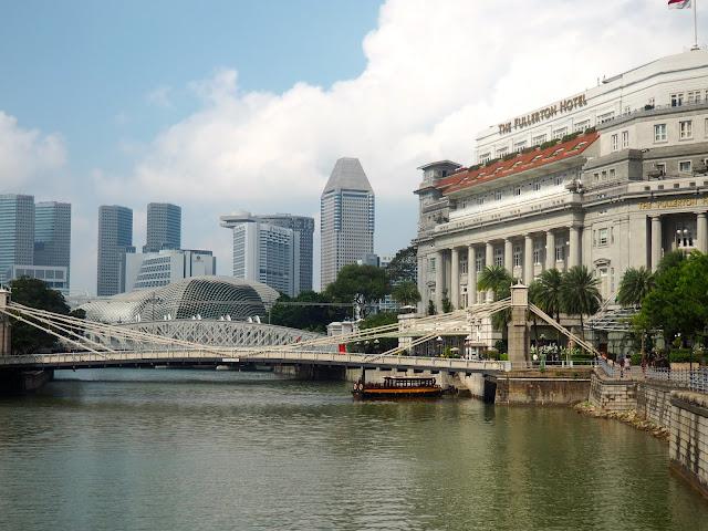 Fullerton Hotel, Raffles Place, Singapore