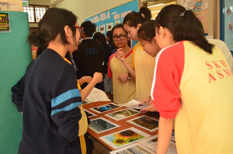 聖公會諸聖中學圖書館網誌: 4.23攤位活動