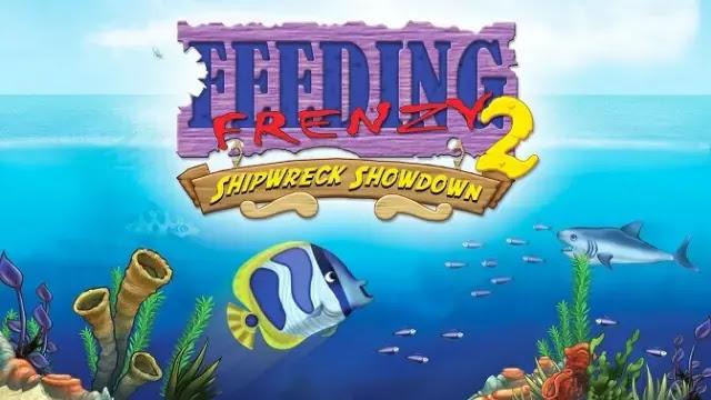 تحميل لعبة السمكة 2 feeding frenzy كاملة